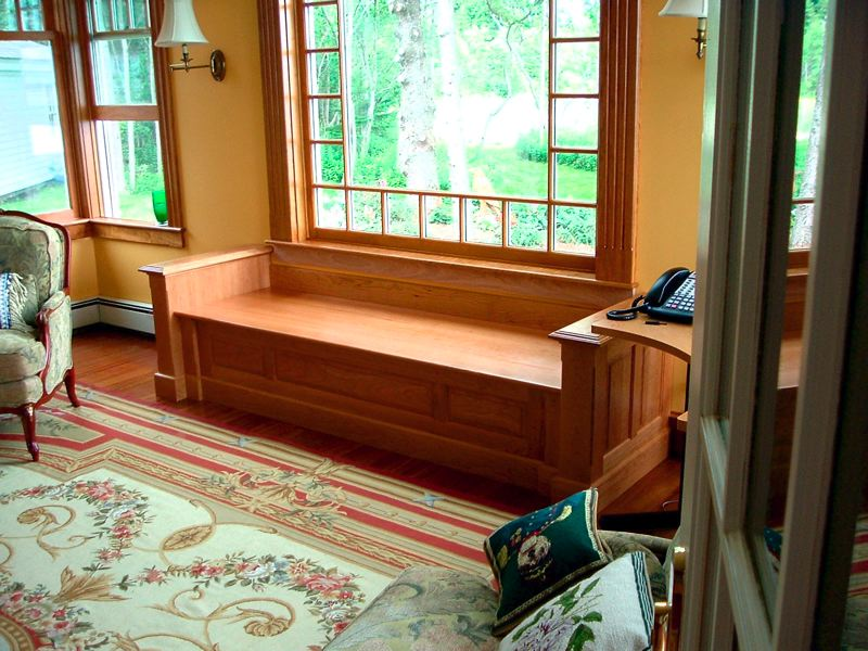 Butler 39 s pantry window seat 4 4 for Window design 4 by 4